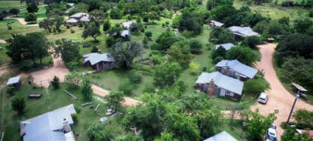 Hill Country Log Cabins In Fredericksburg Texas