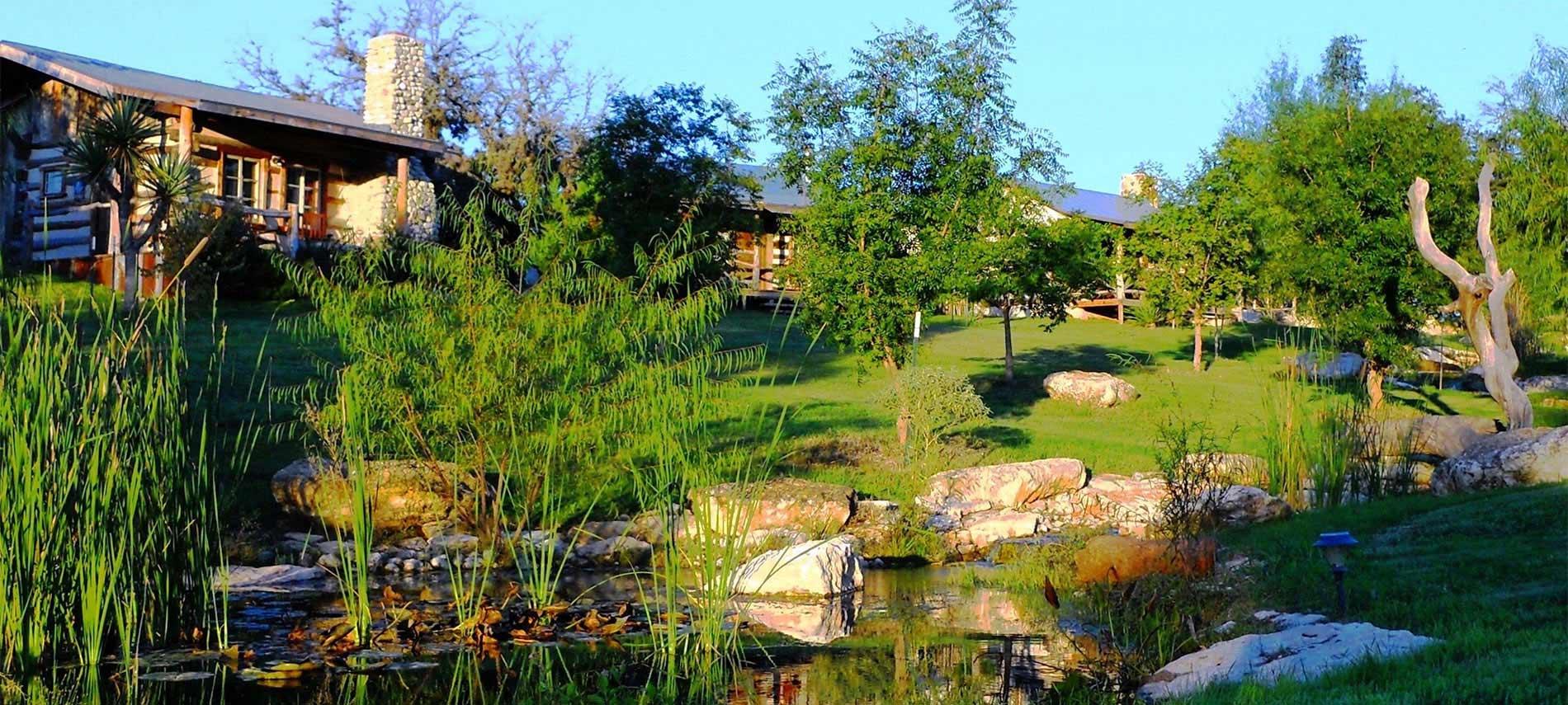 Fredericksburg TX Rentals  Gastehaus Schmidt  Texas Hill