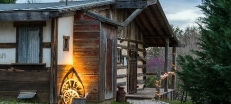 Hill Country Log Cabins in Fredericksburg Texas on