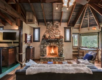Hill Country Log Cabins in Fredericksburg Texas on rock churches, rock lake homes, rock lake cabins, rock and log house,
